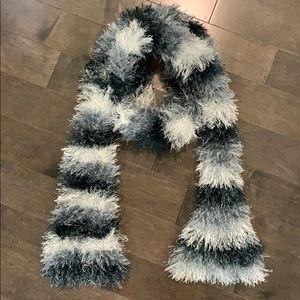 Homemade Knit Scarf